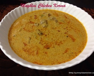 Mughlai Chicken Korma Curry Recipe