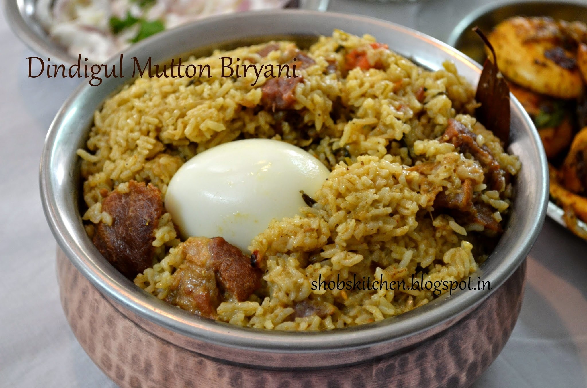 Dindigal Mutton Biryani