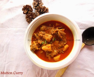 Simple and Easy Mutton Curry