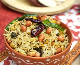 Gongura Pulihora (Tangy & Spicy Sorrel Leaf Rice)