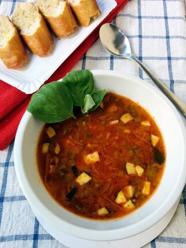 Recipe of Italian Minestrone Soup | How to Make Italian Minestrone Soup