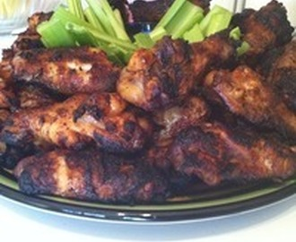 Dry Rub Hot Wings Recipe