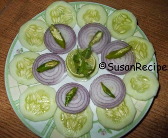Cucumber and Onion Salad