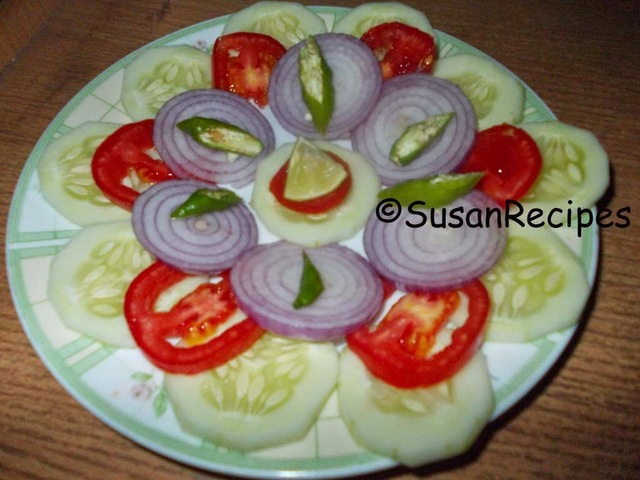 Cucumber and Tomato and Onion Salad