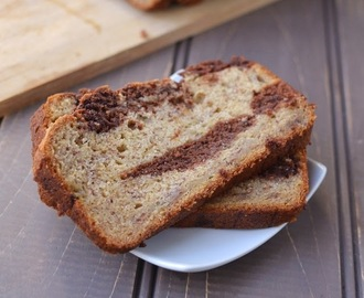 Banana Chocolate Swirl Bread