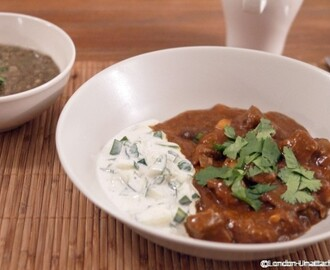 Rogan Josh from Revival Bootcamp – 5:2 Diet Curry Recipe