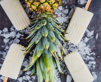 Pina Colada Popsicles + 15 Pina Colada Recipes