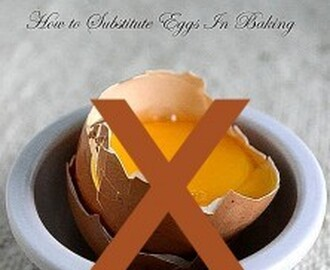 Baking Basics – Eggless Baking