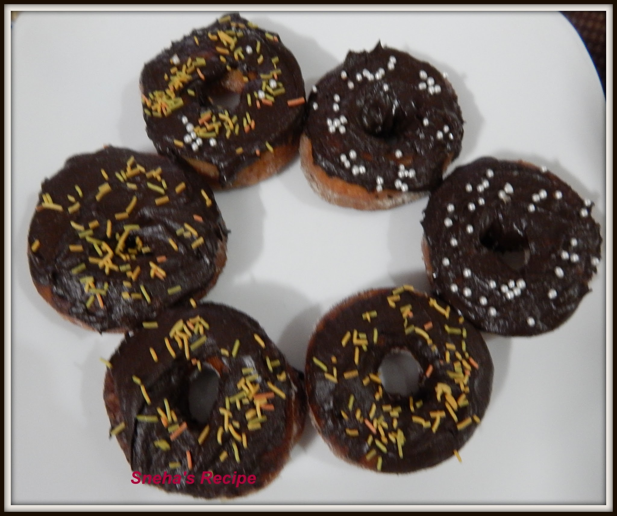 EGGLESS CHOCOLATE  DOUGHNUTS