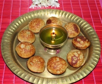 Foxtail Millet / Quiona / Thinai Appam -Thirukarthigai Deepam Recipe