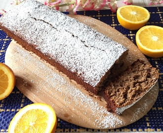 Queque de Naranja y Chocolate