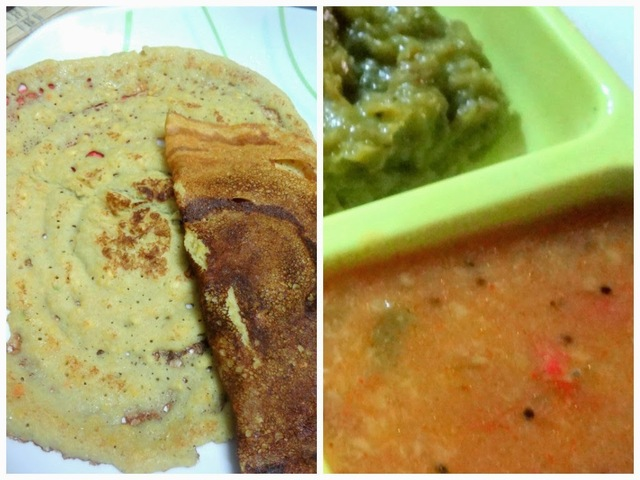 Moong dal , oats, cabbage dosa   ( weight loss recipe )