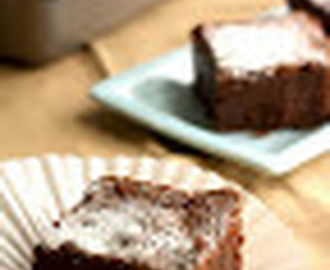Brownie de Hummingbird Bakery.  Receta