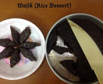 Wajik (Rice Dessert) - Guest post by Kohilavani