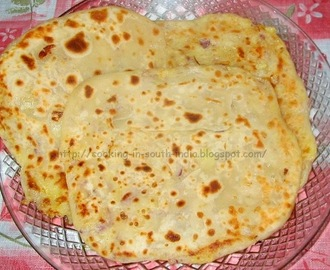 Aloo Paratha – Spiced Potato stuffed Flat bread