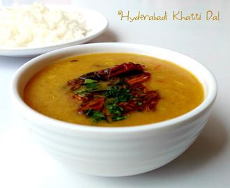 Hyderabadi Khatti Dal Recipe | How to Make Khatti Dal