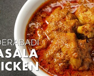 HYDERABADI MASALA CHICKEN | HYDERABADI CHICKEN MASALA RECIPE | HYDERABADI MURGH MASALA