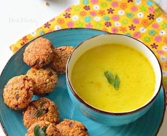 Vadai thatti potta Mor Kuzhambu / South Indian Vada Kadhi