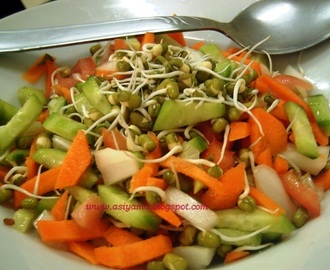 Moong Sprouts  Chaat/Healthy Sprouts Sandwich