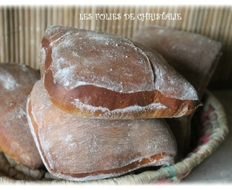 Pain ciabatta (Thermomix TM 5 ou TM 31 )