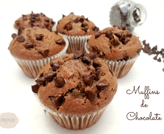 Muffins de chocolate (tipo Starbucks®)