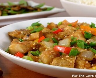 Healthy Sesame Chicken Recipe