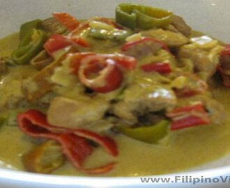 Bicol Epress (Spicy Peppers In Coconut Cream Sauce) Recipe