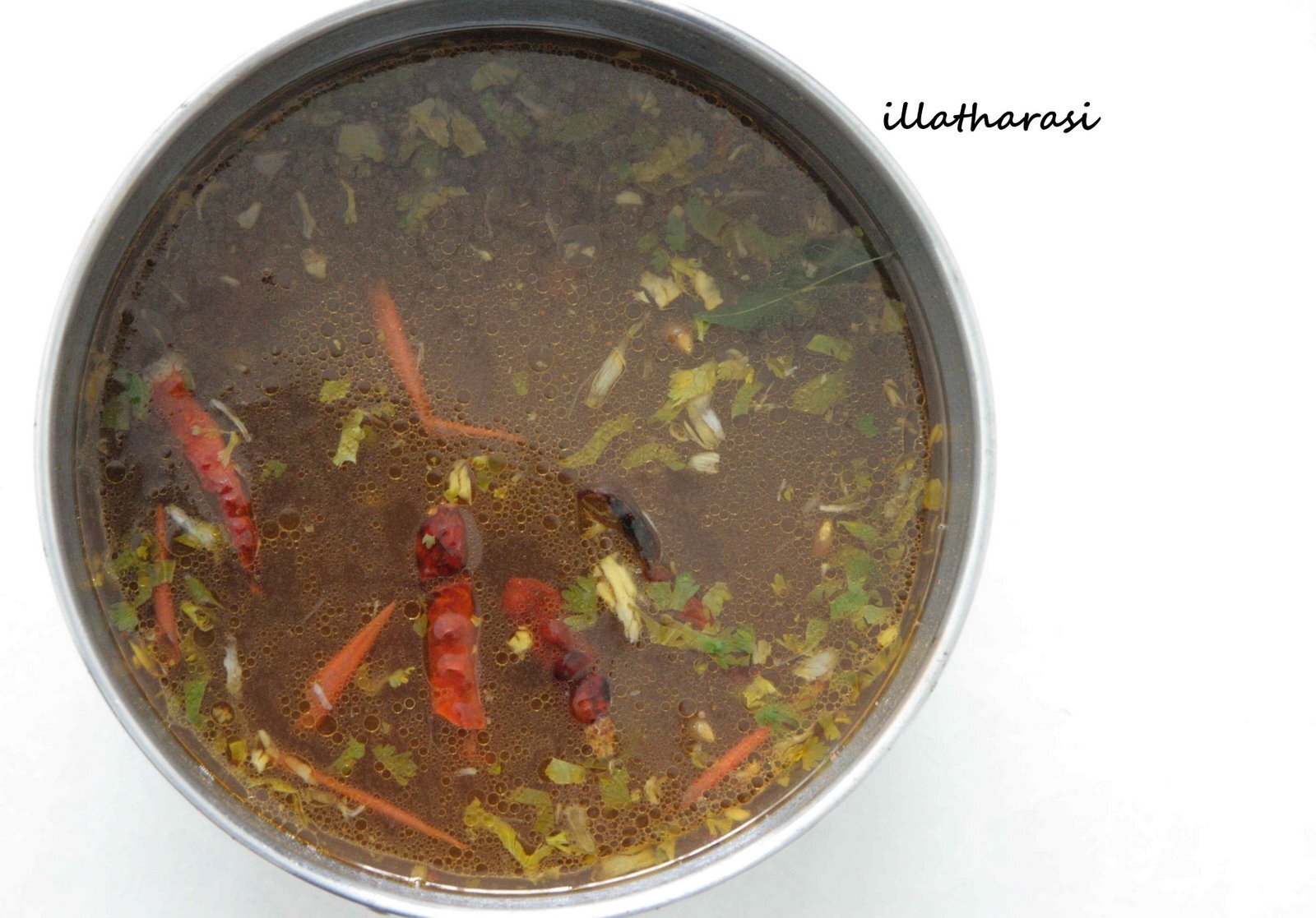 Simple Tomato Rasam(Pepper Water)
