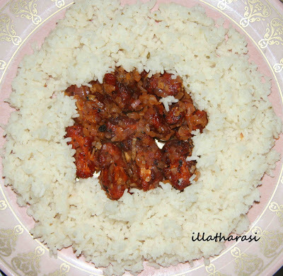 Gobi (Cauliflower) Manchuria & Masala Rice (Microwave Cooking)