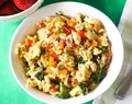 Healthy Veggie Egg Scramble