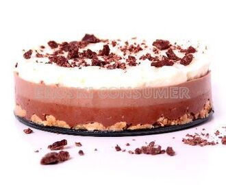 tarta tres chocolates con thermomix