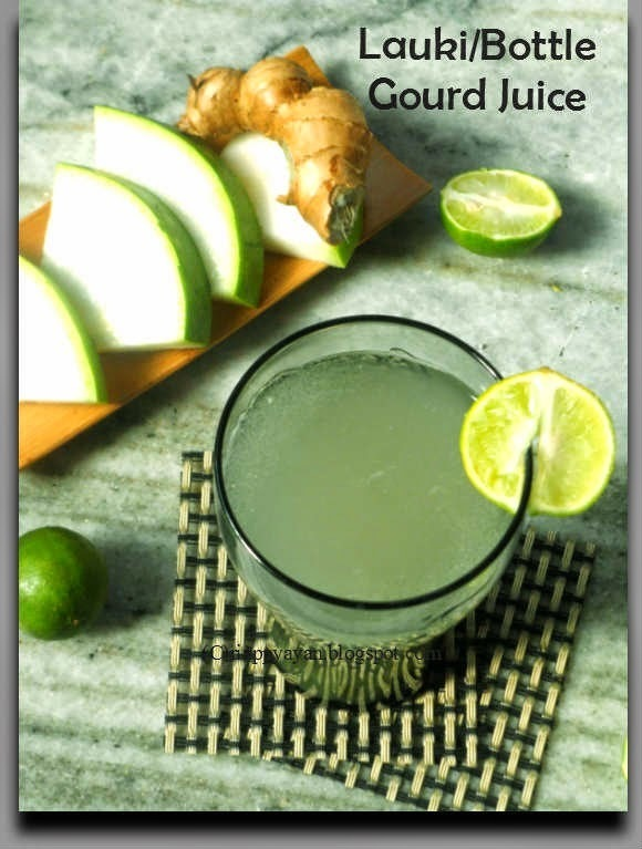 Cool your body from inside with Bottle Gourd juice in this Summer