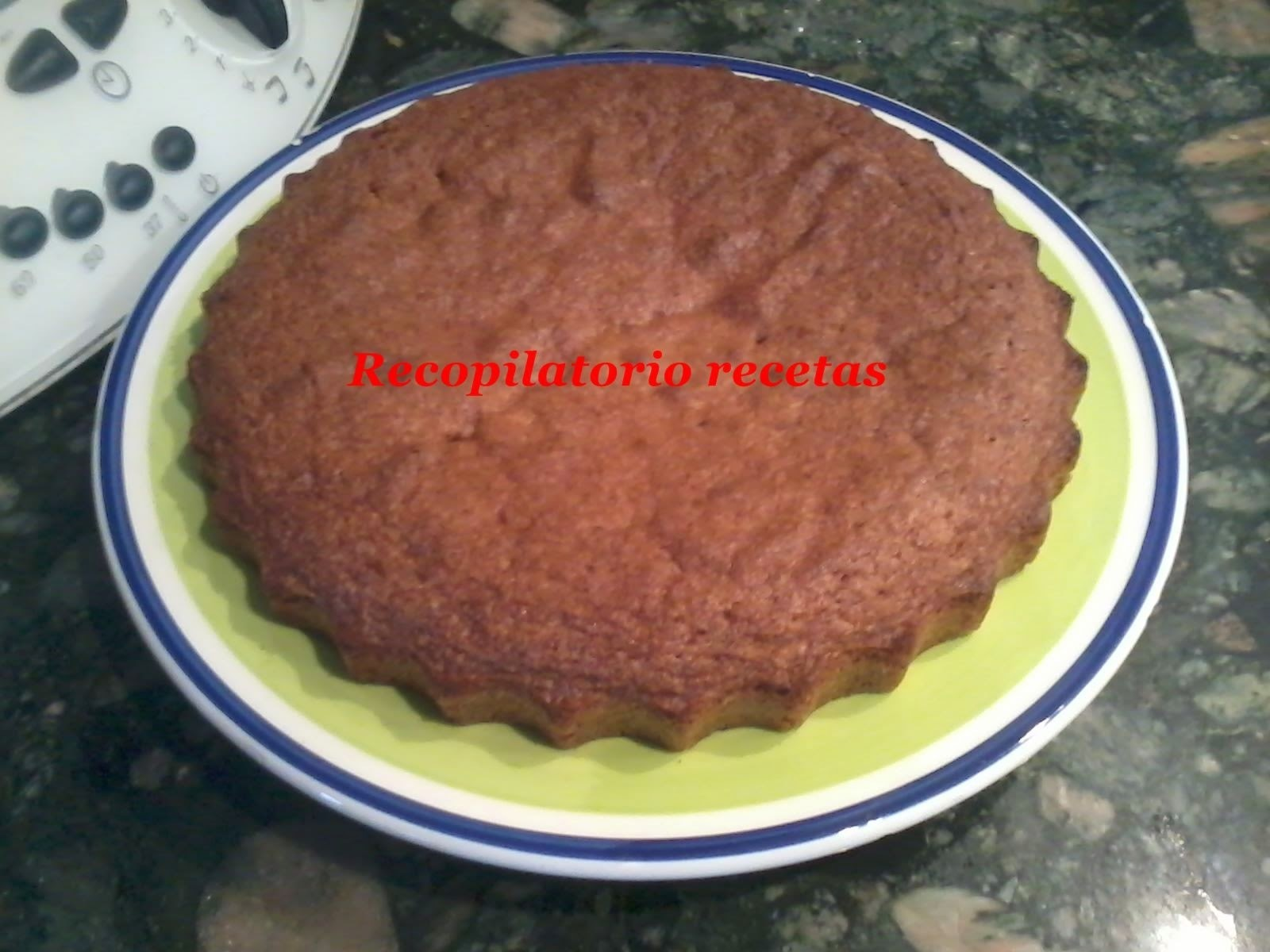 Brownie de nueces con thermomix