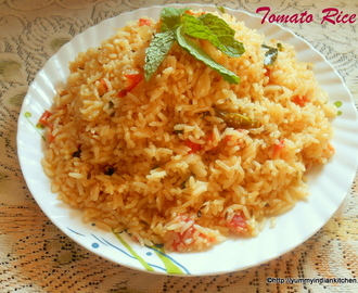 How To Make Tomato Rice Recipe,Rice Recipes