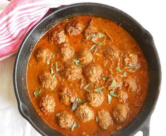 Meatball Curry Recipe - How To Make Indian Meatball Curry