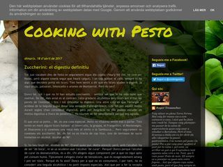 Cooking with Pesto