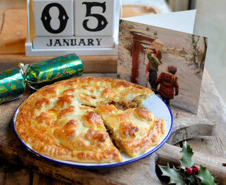 Twelfth Night, Epiphany and Spices! Curried Beef & Apricot Pie with a Salt Glaze Crust Recipe