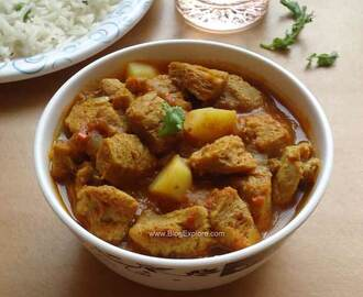 Soya Chunks Potato Curry