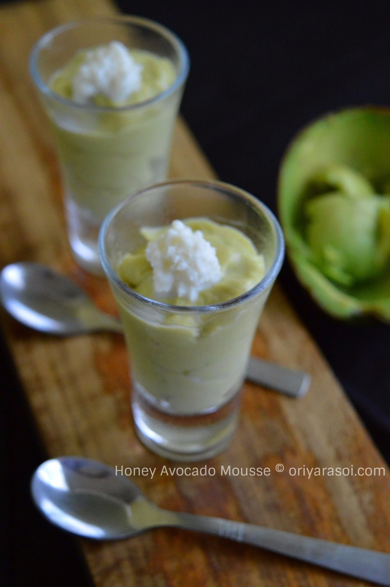 Honey Avocado Mousse