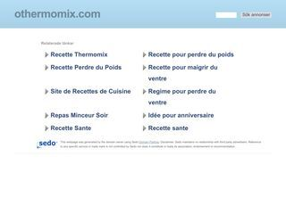 Recipes thermomix