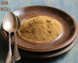 Homemade Garam Massala, Indian Spice Mix