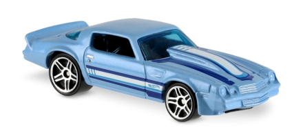 Hot wheels car - camaro fifity - 81 camaro