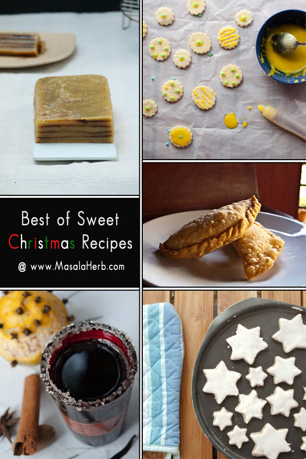 Best of Sweet Christmas Recipes | Masala Herb