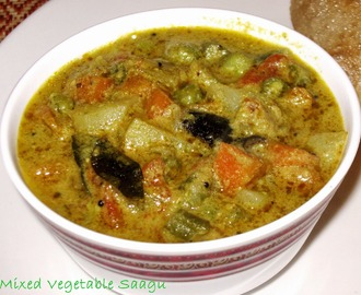Mixed Vegetable Saagu