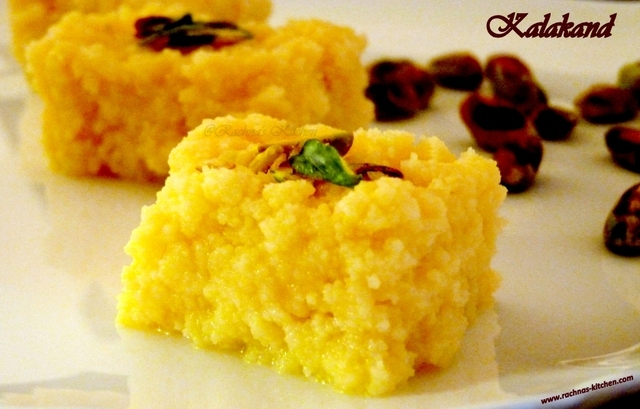 Kalakand Recipe In Microwave| Indian Milk Cake|Milk Burfi