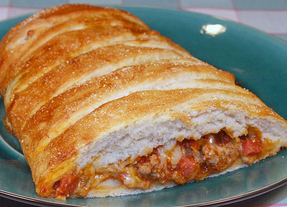 Image: Pizza Loaf Recipe with Picture - LoveThatFood.com