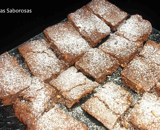 Brownies de Chocolate com Amêndoas