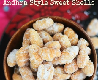 Amma's Recipes | G for Gavvalu | Andhra Style Sweet Shells