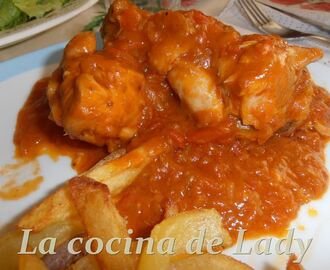 Pollo al Chilindrón (Thermomix)