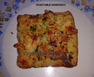 Vegetable Sandwich!